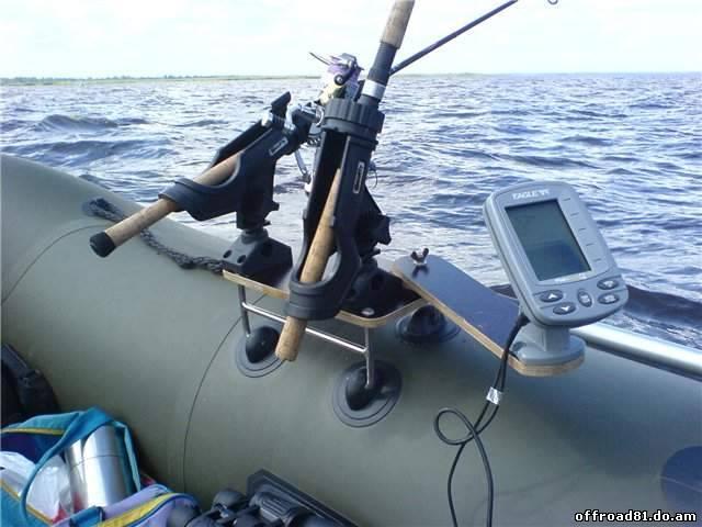 тюнинг лодки эхолот